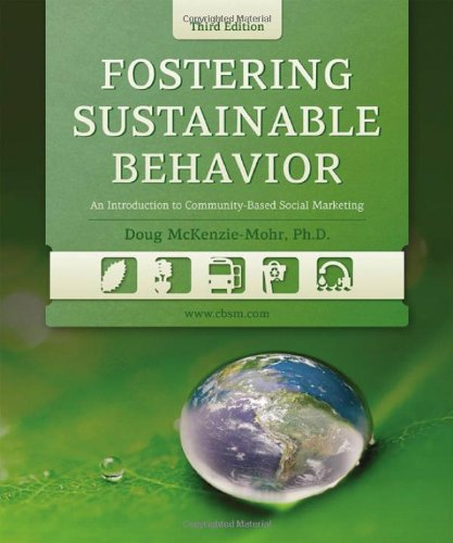 "Book Review for ""Fostering Sustainable Behavior"""
