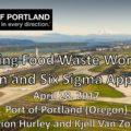 EC 022: Lean Six Sigma and Wasted Food Workshop