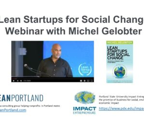 EC 045: Lean Startups for Social Change with Michel Gelobter